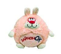 Мягкая игрушка «Зайчонок Круглик» ЗКУ0