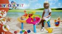 Столик песочный с набором и стульчиком 01-121