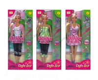 Кукла со стильными нарядами и аксессуарами 6002