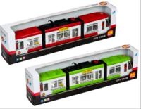 Городской трамвай 1258