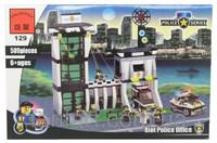 Конструктор BRICK 129 полицейский штаб