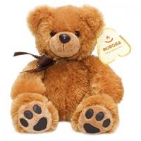 Мягкая игрушка Aurora Медведь коричневый 27 см  3L1Q5B